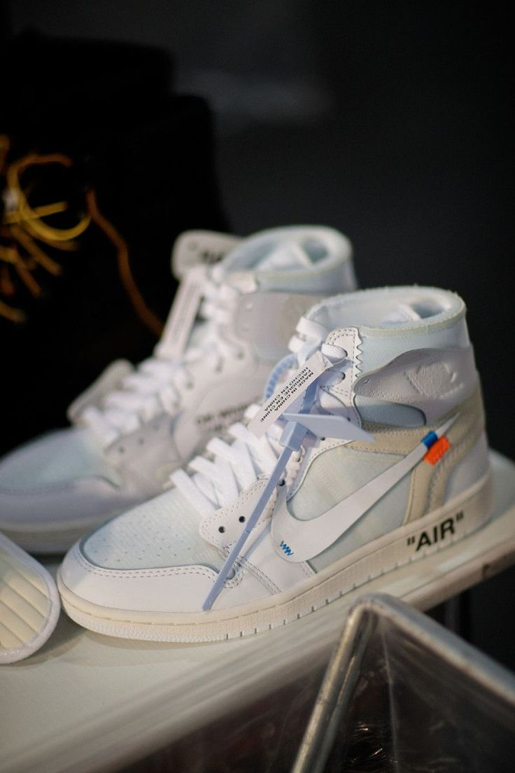 All-White Virgil Abloh x Nike Air Jordan 1 Is Officially Unveiled #nikewomenrunningshoes