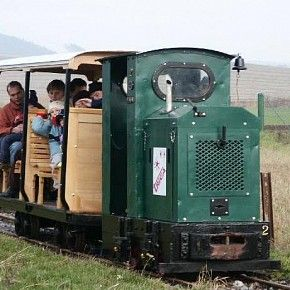 Zahradní železnice Drásov - vlacky pro kluky