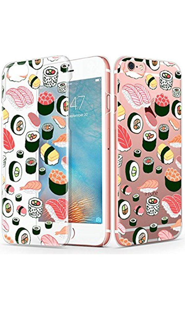 IPhone 6s Plus Case, iPhone 6 Plus Case, MOSNOVO Cute Sushi Pattern Design Transparent Clear Case for Apple iPhone 6 Plus 5.5 Inch Best Price