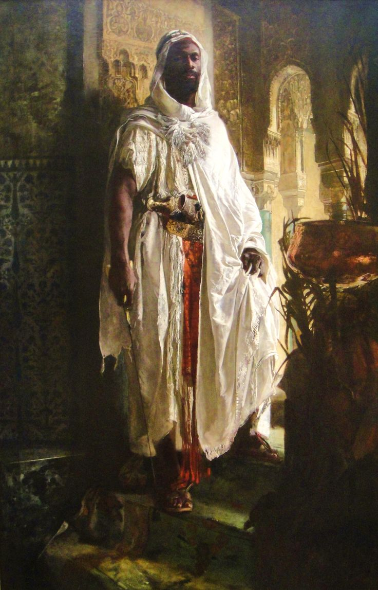 The Moorish Chief, Eduard Charlemont, 1878.....one of my favorite paintings. It's home is in the Philadelphia Museum of Art.