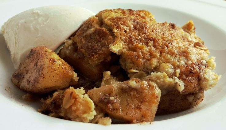 Cook a tasty apple crisp in The Big Easy oil-less turkey fryer. This recipe is simple and cooks to perfection.