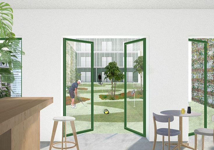 np2f architectes office kersten geers david van severen bureau bas smets r inventer paris. Black Bedroom Furniture Sets. Home Design Ideas