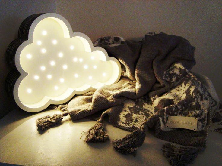 Petite Cloud Light by Fromage La Rue and the iconic Grey and White Bears Blanket by Noah and Bowie - two of my favorite things in my house at the moment !