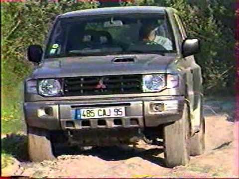 La conduite 4x4 par Jean Pierre Fontenay Mitsubishi part 2