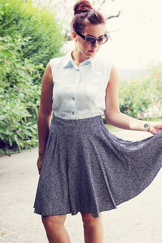 Tania culottes by Paunnet, via Flickr