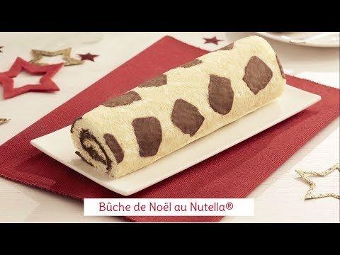 Recette de bûche de Noël au Nutella® - YouTube