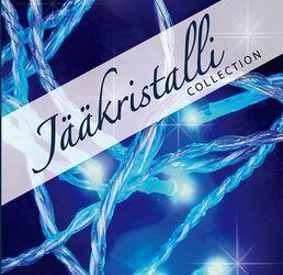 Valosarja, 80 LED, sininen, sisä- ja ulkokäyttöön; Jääkristalli | Rellunkulma.fi verkkokauppa