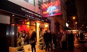 Groupon - Standup Comedy with Shots for Two or Four (Through May 28) in Stand Up NY. Groupon deal price: $17