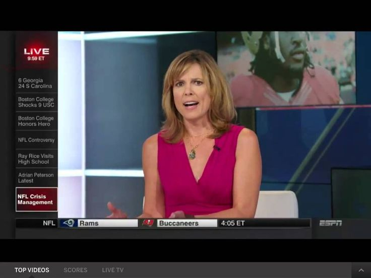 "ESPN's Hannah Storm on Domestic Violence and the NFL, ""What exactly does the NFL stand for?"""