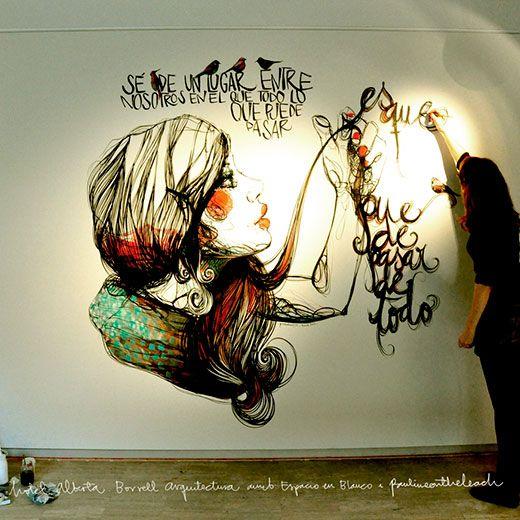 Paula Bonet y sus ilustraciones enigmáticas - http://viviendochic.com/2014/04/paula-bonet-y-sus-ilustraciones/