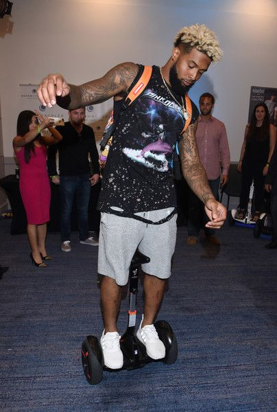 Odell Beckham Jr Photos Photos - Odell Beckham Jr. attends Cooper & GBK's 2016 Pre-ESPY Celebrity Lounge & Poker Tournament at The Line Hotel on July 12, 2016 in Los Angeles, California. - Cooper & GBK's 2016 Pre-ESPY Celebrity Lounge & Poker Tournament