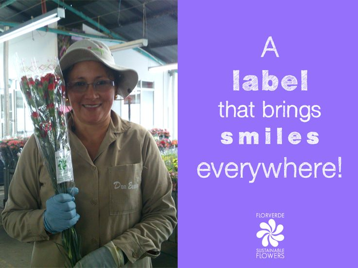 Wanna spread smiles everywhere? Take a sustainable choice in your next purchase! #flowers #industry #sustainability