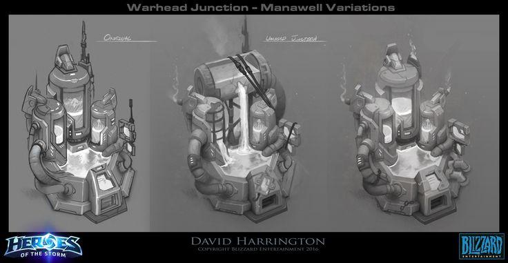 ArtStation - Warhead Junction - Manawell Concepts - Heroes of the Storm, David Harrington