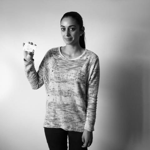 A Tânia Dias levaria o seu cartão do cidadão. ©UNHCR/ CPR/ António Pedro Ferreira