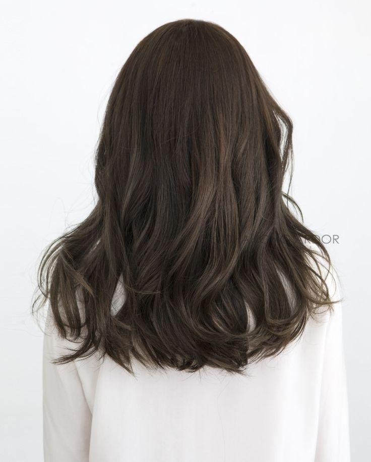 매력적인 앞머리, 긴머리 볼드펌 차홍아르더 Charming bangs : 네이버 블로그