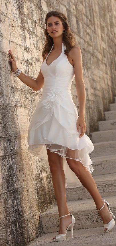 Linea Raffaelli Short Wedding Dress | LR Bridal
