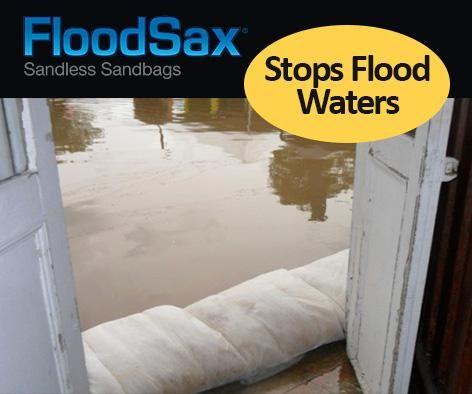 quick dam flood barrier protection vs. floodsax. Flood protection
