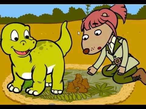 ▶ Mignon bébé dinosaure - Dessin animé éducatif pour enfants - Genikids - YouTube