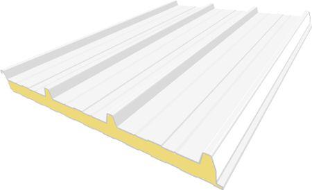 Sandwichplatten, Sandwichelemente und Sandwichpaneele Dach, Iso-Paneele mit Polyurethan - ausgereift und langzeitbewährt!  Sandwichplatten, Sandwichpaneele und Sandwichelemente sind selbsttragende, raumabschließende, wärmegedämmte Bauteile. Sie bestehen aus einem Stützkern aus Polyurethan-PUR-Hartschaum, der kontinuierlich zwischen profilierte Dachbleche als Deckschicht schubfest eingebracht ist.