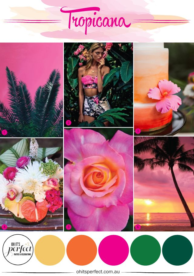 TROPICAL THEMED PARTY www.ohitsperfect.com.au #tropicalthemeparty #summerparty #hawaiianparty