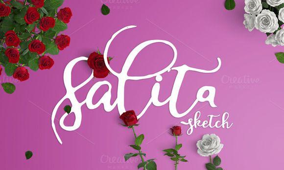 salita sketch_OFF 20% by Ijemrockart / Letterplay on @creativemarket