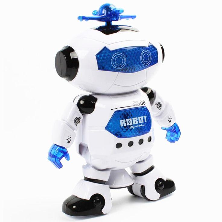 2017新しいスマートスペースダンスロボット電子ウォーキングおもちゃで音楽ライトギフト用キッズ飛行士おもちゃ子供のため