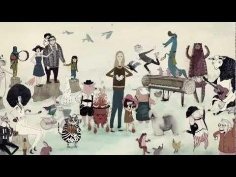 Breve vídeo de animación de Paul and Linda McCartney - 'Heart Of The Country'