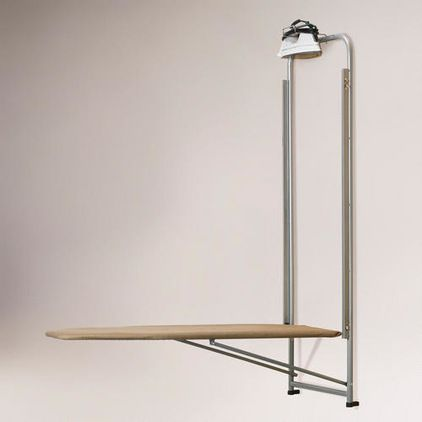 Over-the-door Ironing Board - $39.99 » This over-the-door ironing board with a built-in iron holder is functional and saves space — bonus! It's even affordable. This is a must.