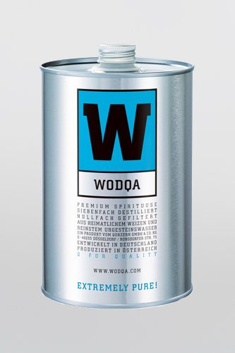 Wodqa Premium Vodka aus Deutschland
