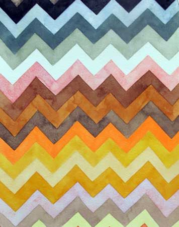 #chevron patterns colors art
