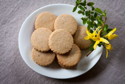 "Another recipe for ""Hildegard's Cookies of Joy"" - Spring is the perfect season to celebrate Hildegard of Bingen, the medieval Rhineland mystic, hildegardnaturalist, seer, writer, gardener, composer, and physician. The world is leaping to life in every color of green, a celebration of Hildegard's central concept of viriditas–the ""greening finger"" of the divine in all of life."