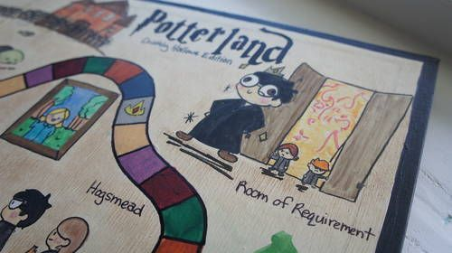 Harry Potter Candyland - TOYS, DOLLS AND PLAYTHINGS - Knitting, sewing, crochet, tutorials, children crafts, papercraft, jewlery, needlework, swaps, cooking and so much more on Craftster.org