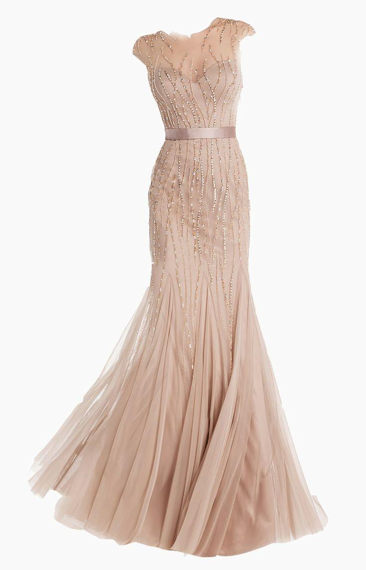 The 25 best vestido rosa palo ideas on pinterest - Color rosa palo ...