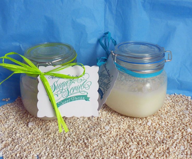 Natural Sugar Body Scrub - Nut free for allergy sufferers by AphroditeDelights on Etsy