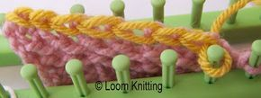 I couldn't figure out how to cast off on a loom. Now I know.