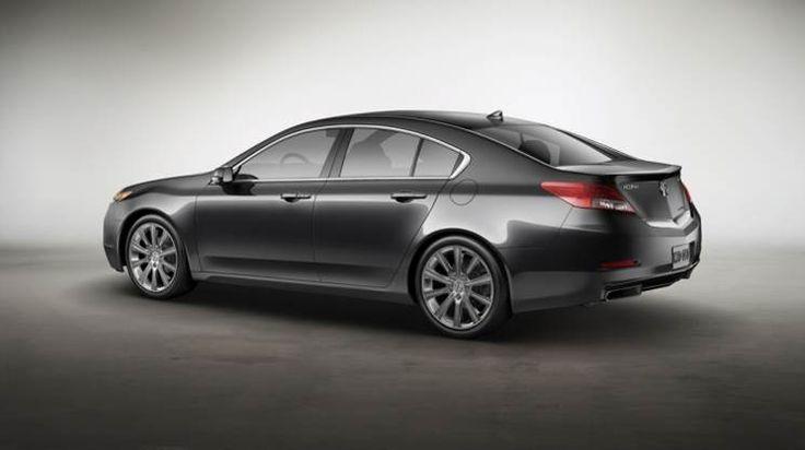 2016 Acura TL back