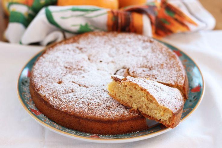 Torta Cachi & Mandorle