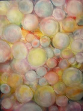 """BUBBLES I Original Oil Painting on Canvas 18""""X24""""  by John Robert Jurisich"""