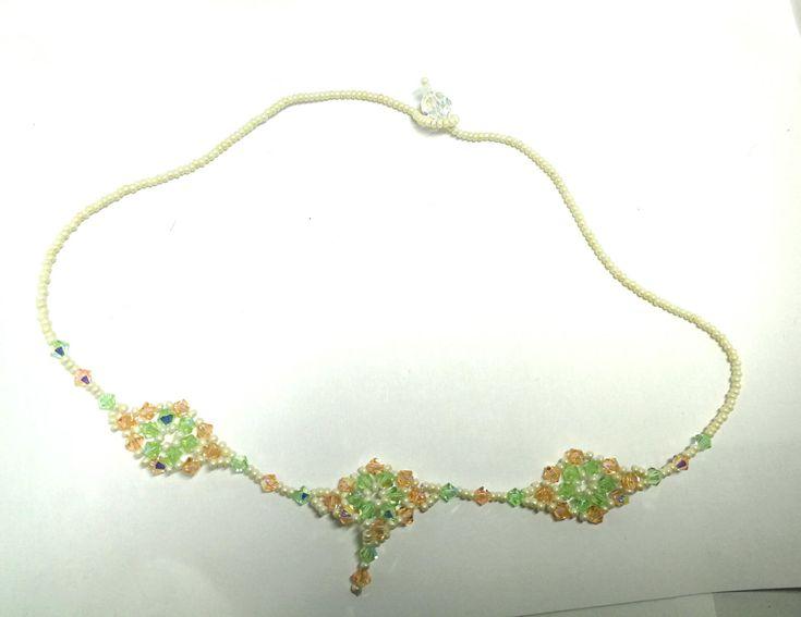 collier en perles Miyuki
