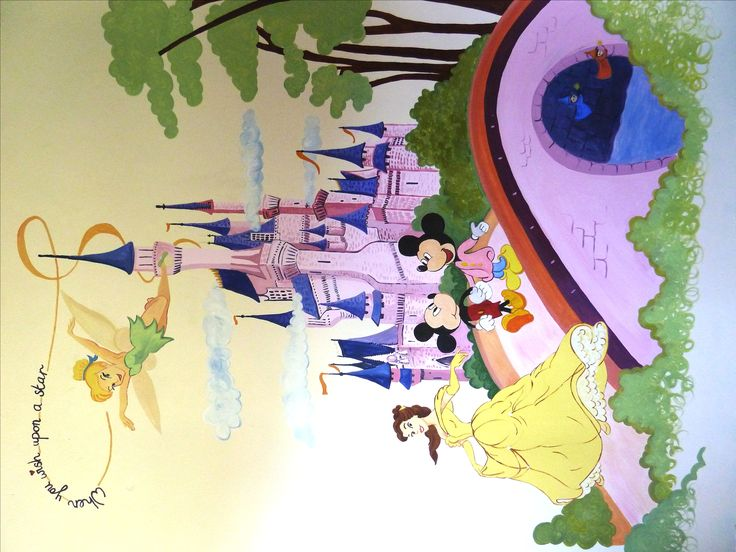 Disney wall 1