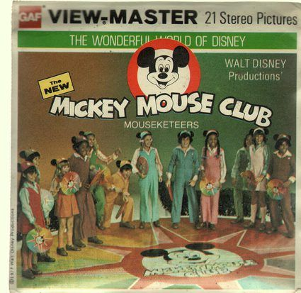 Mickey Mouse Club View Master (3) 1977
