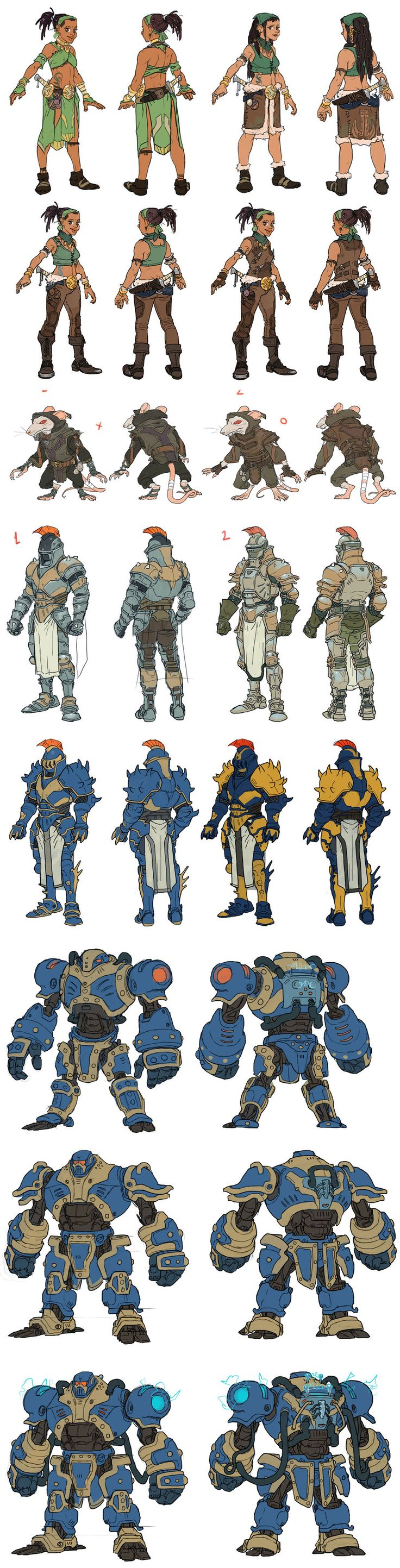 Character Design Learning : Best images about game art on pinterest comic a