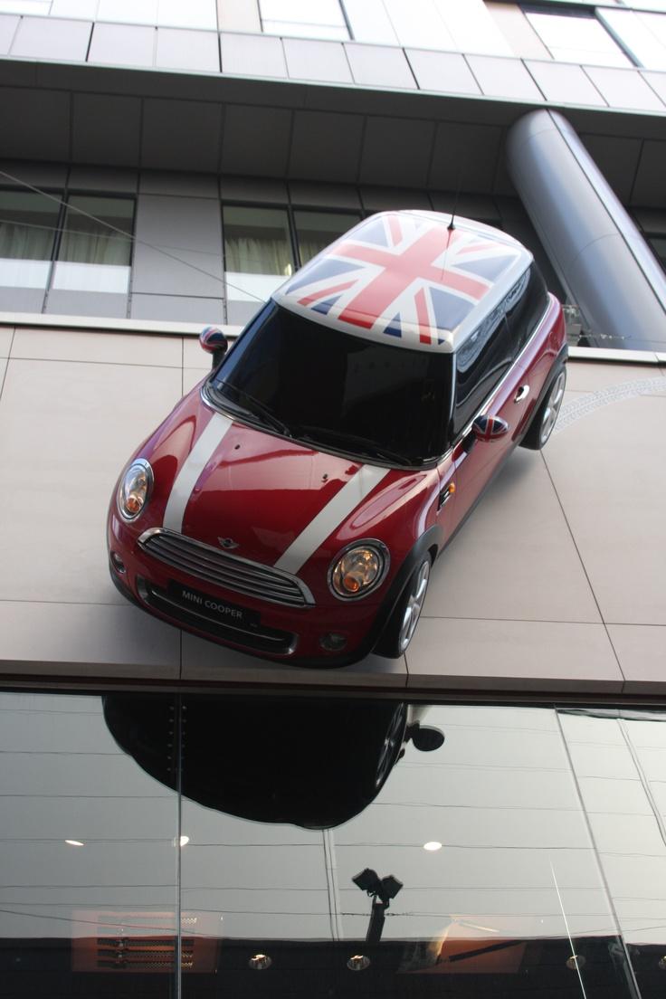 Mini Cooper - Union Jack - Chili Red