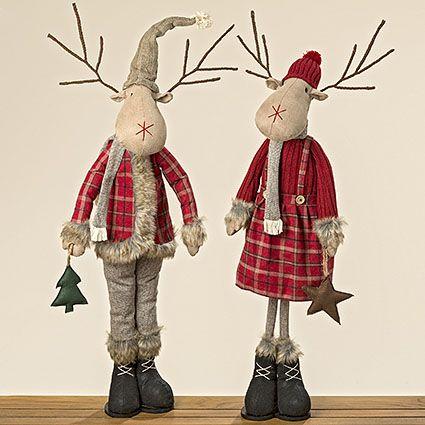 Hirschaufsteller #aufsteller #hirsch #figur #winter #woodlands #tannenbaum #weihnachten