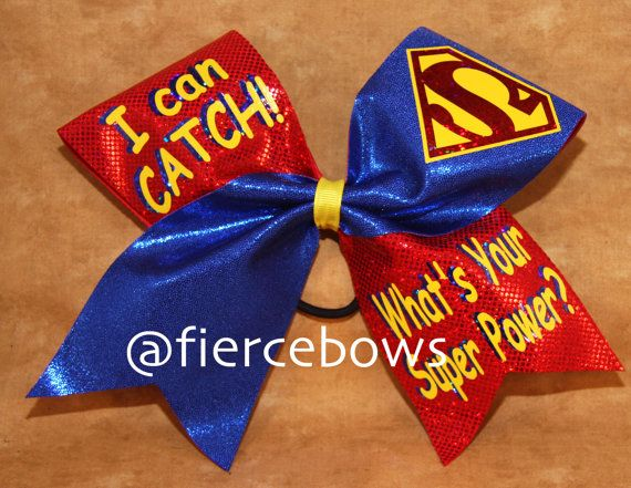 Where you are a cheerleader or a softball player, this bow will ring true for you. A takeoff on our I Can Fly bow, this one tells the work about