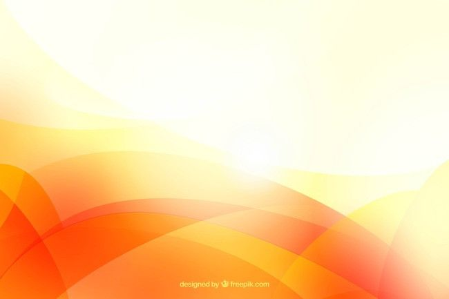 Bright Orange Abstract Background Material In 2019