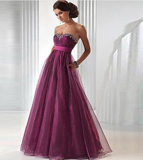 Products that inspire: Purple Evening Dress