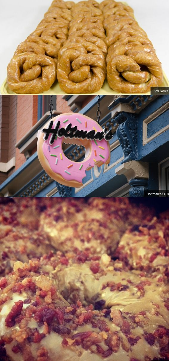 Cincinnati Ohio is home to delicious donuts!.. so I've heard! ----- It's true! Holtman's is amazing! Once you've tried it, you can't go back to Dunkin!