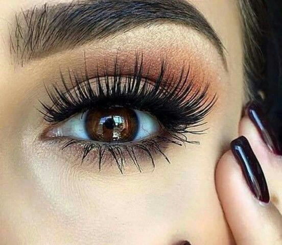Natural look for brown eyes