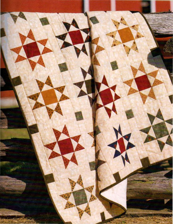17 Best Images About Ohio Star Quilts On Pinterest